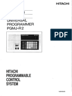 Universal Programmer Pgmj-r2 Operation Manual