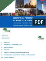 Descripcion y Efectos Tormenta de Fuego 18 Enero Al 5 Febrero 2017
