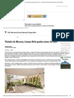 Vizinho de Moema, Campo Belo Ganha Status de Luxo - Especial Vila Mariana_Santo Amaro_Campo Belo