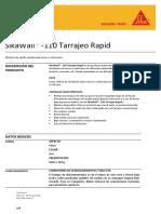 HT - SikaWall- 110 Tarrajeo Rapid