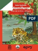 Guia Ilustrada Canon Del Rio Porce Antioquia Mamiferos