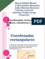 Coordenadas Cartesianas Cilíndricas y Esféricas
