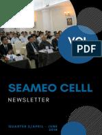 seameo celll newsletter vol 10-q2-2018
