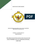 Rancangan Aktualisasi CPNS BPK RI