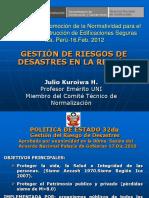 2. Gestión de Riesgos y Viviendas en Albañilería Confinada