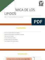 Bioquímica de Los Lípidos
