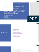 Analisis Overpressure Dan Geomekanik Pada Lapangan X, Cekungan Jawa Barat Utara