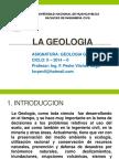 1. La Geologia