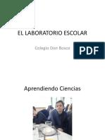 El Laboratorio Escolar