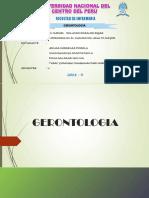 Gerontologia y Bioetica