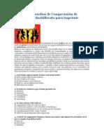 Ejercicios Resueltos de Comprensión de Lectura Para Bachillerato Para Imprimir
