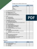 Senarai Semak Tajuk Ulangkaji Sains Pt3 2018