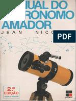 Jean Nicolini-Manual Do Astrônomo Amador-Papirus (1991)