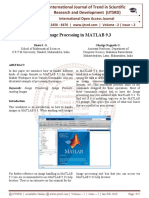 Image Processing in MATLAB 9.3