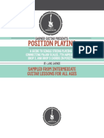 Position Playing Interactive eBook by Garner Guitar