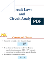 Circuit Law and Circuit Analysis