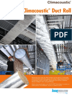 Climacoustic® Duct Roll - HVAC & OEM Insulation