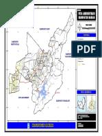 Peta Kabupaten Banjar