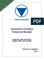 World YWCA Constitution 2011 SP