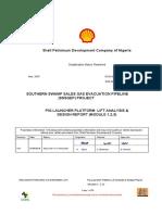 SSG-NG01017365-GEN-CS-8180-00007_C01_Pig Launch Analysis and Dsg Rpt