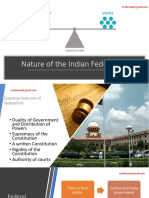 Federal Features of Indian Constitution