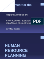 3 Human Resource Planning