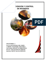 Control y Prevención de Incendios