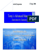 Toray Advanced Materials Symposium 2006