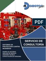 Brochure Sistemas Contra Incendios Domotco Energy