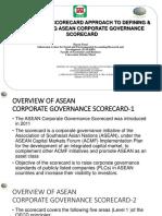Seminar on ASEAN CG Scorecard Usakti July26 2018 Rev