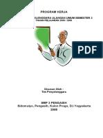 Program Kerja Mid 1 2010