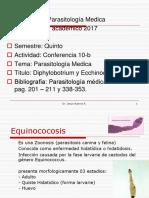 (Diphylobotrium y Echinococus)