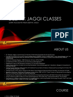 Deepak Jaggi Classes