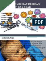 Teknik Pemberian Imunisasi Pada Bayi Dan Anak