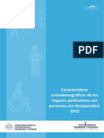 (Ml)Caracteristicas Sociodemograficas de Los Hogares Particulares Con Personas Con Discapacidad