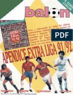 Don Balon Apéndice Extra 1991-1992