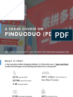 Crash Course on PDD