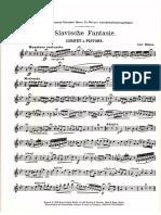 Slavische Fantasie Trumpet Piano Carl Hohne