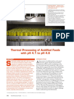 Heat Preservation of Foods
