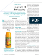 The Changing face of Beverage Processing
