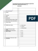 Kuesioner Input dan Output