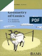(Mathematical World 26) a. v. Akopyan, A. a. Zaslavsky-Geometry of Conics (Mathematical World)-American Mathematical Society (2007)