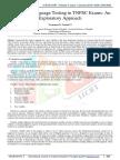 Validity of Language Testing in TNPSC Exams