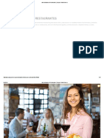 Administración de Restaurantes Certificate
