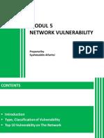 MODUL 5 - NETWORK VULNERABILITY.pdf