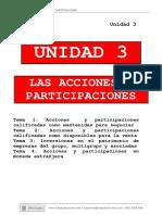 Unidad 3 Acciones y Participaciones