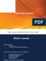 Credit Insurance Ppt 1