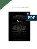 Sinopsis Novel 5 Cm Karya Donny Dhirgantoro