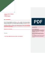 Sample Letter of Application & Resume