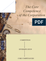 Core Competence Ppt